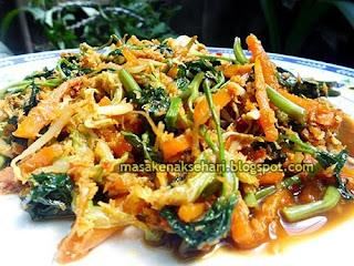 Resep Cara Membuat Urapan Sayuran Sunda Enak Pedas