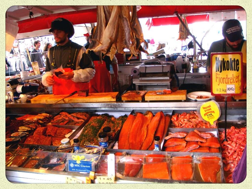 Bergen, Mercato del Pesce