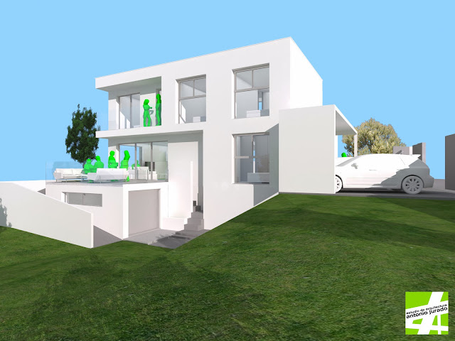 vivienda unifamiliar torrox axarquia malaga antonio jurado arquitecto
