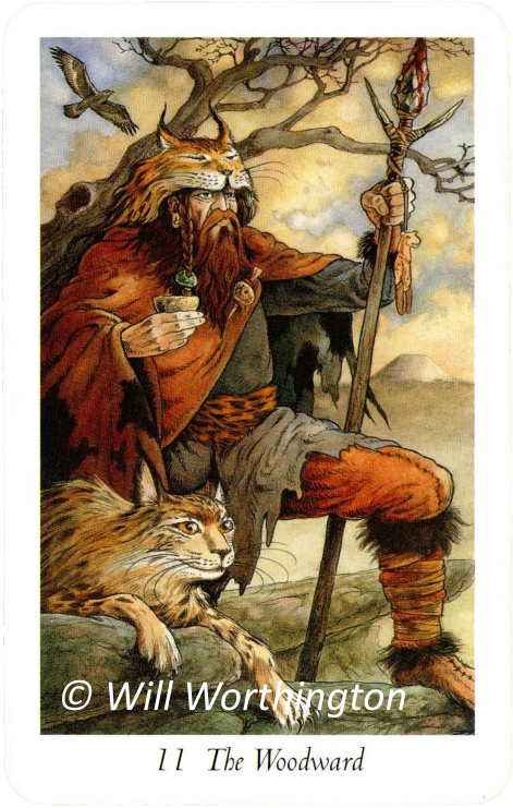 Wildwood Tarot, The Woodward, Will Worthington