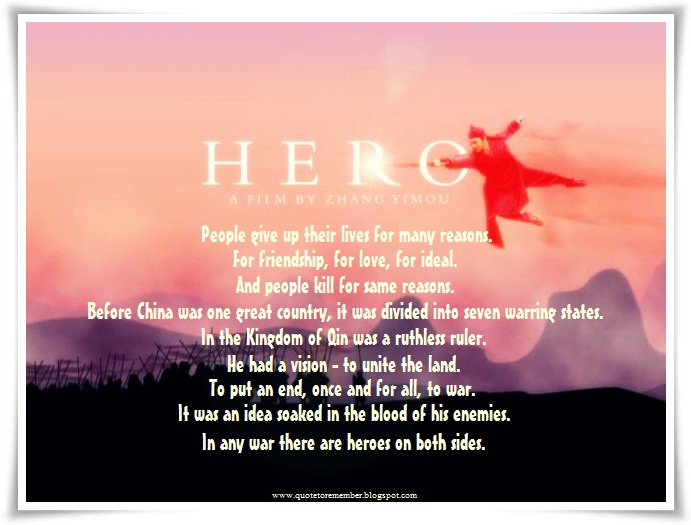 Quote to remember hero 2002 i reheart Choice Image