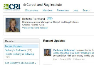 Carpet Professional Stories: Compendium from CRI LinkedIn Group