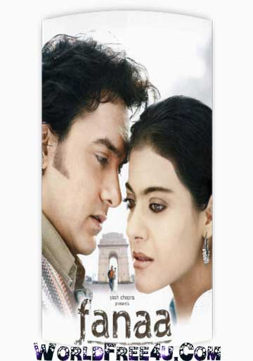 Poster Of Hindi Movie Fanaa (2006) Free Download Full New Hindi Movie Watch Online At worldfree4u.com