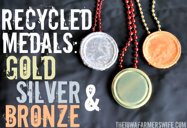 Recycled Olympic Medals