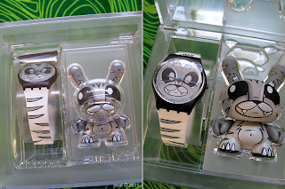 kidrobot for swatch - bengali by joe ledbetter