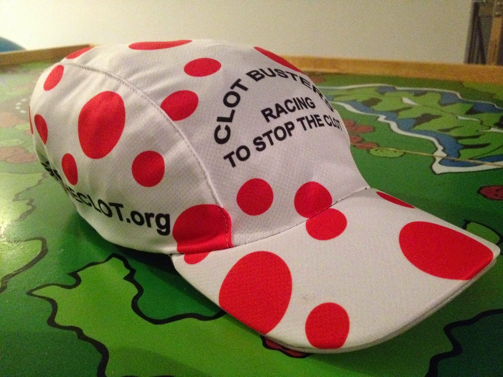 CLOT BUSTER #STOPTHECLOT Performance Hat