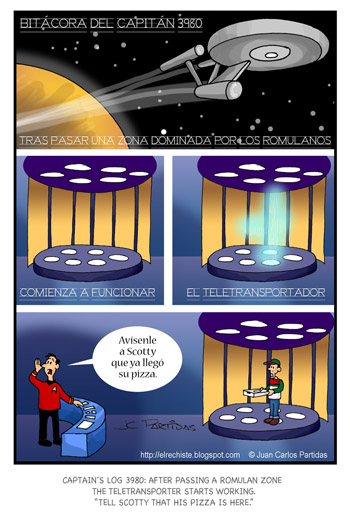 caricatura Star Trek cartoon