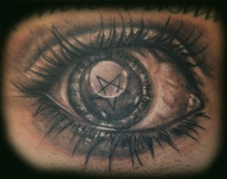evil eye tattoo. Black Bedroom Furniture Sets. Home Design Ideas