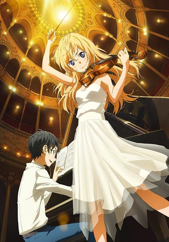 Shigatsu wa Kimi no Uso de Arakawa Naoshi incluirá una OVA en DVD en el tomo 11