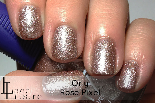 Orly Rose Pixel swatch