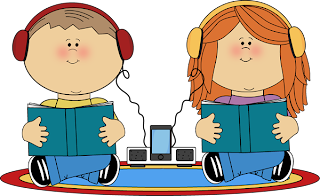 Kids Listening to Podcast