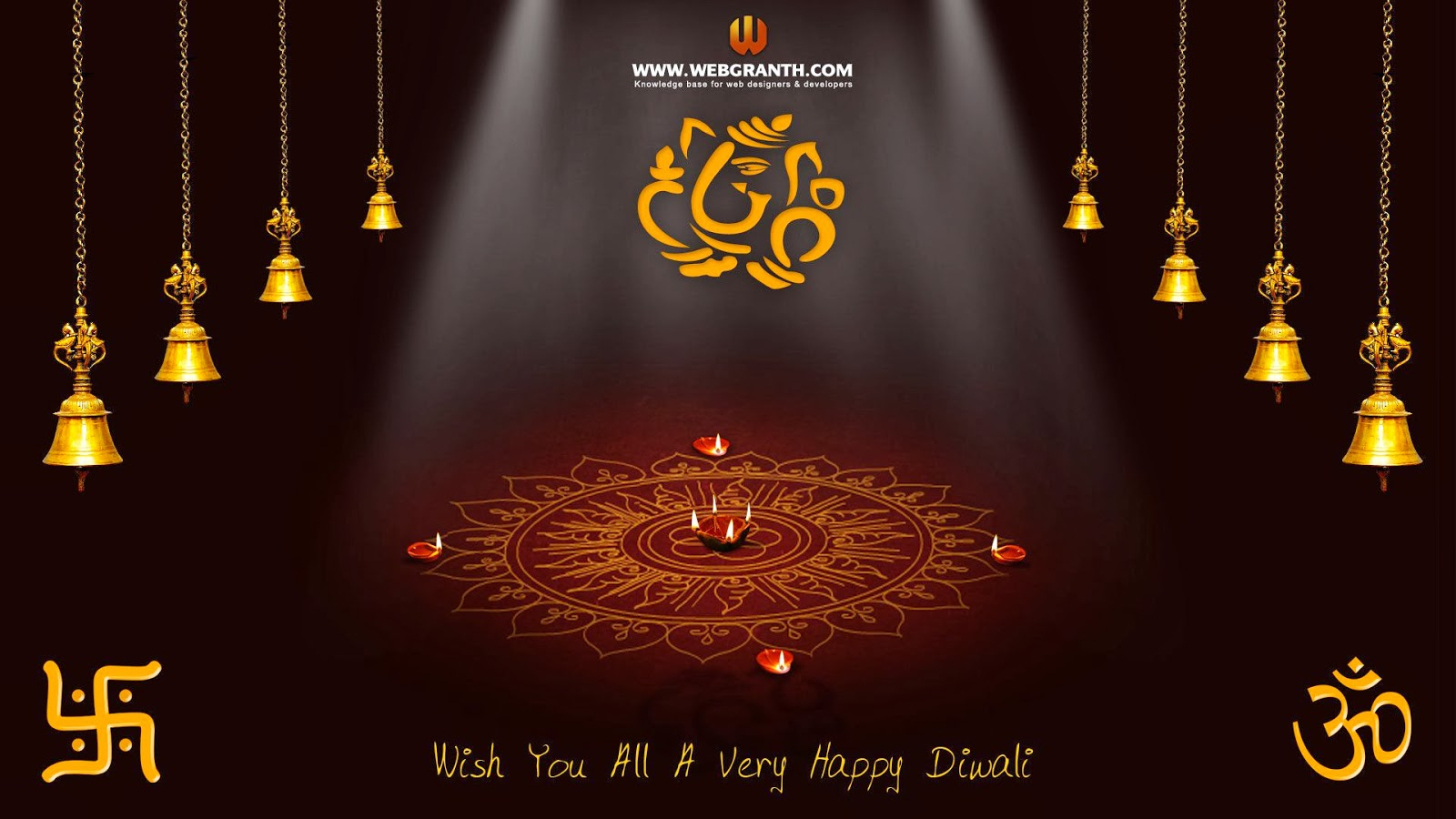 Beautiful Diwali Greeting Card Designs And Backgrounds For Your