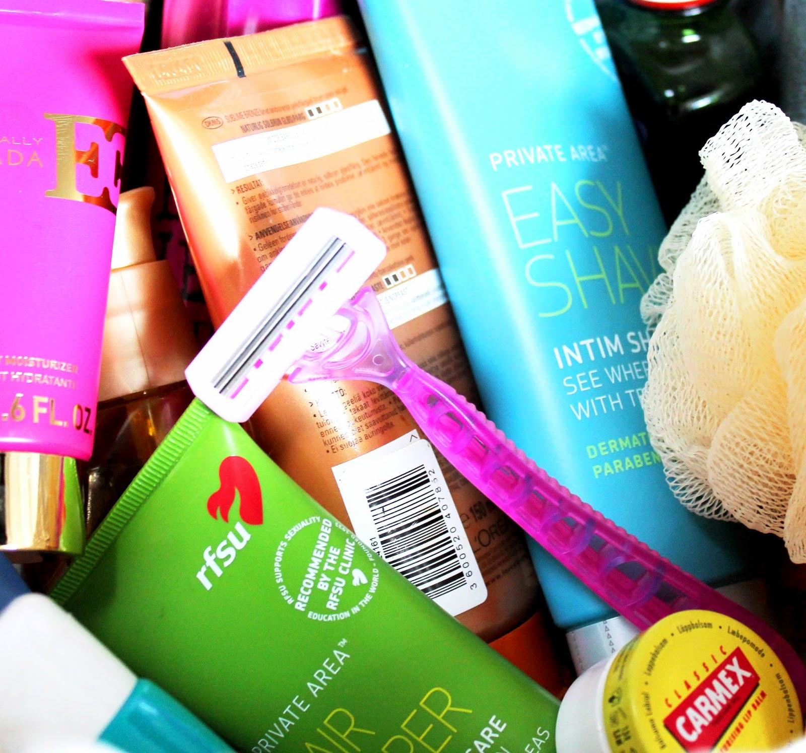 RFSU and Carmex testing. Cosmetics | Alinan kotona blog
