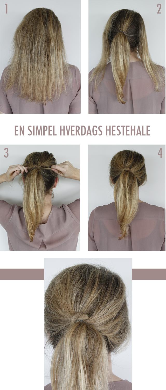 nemme håropsætninger til langt hår