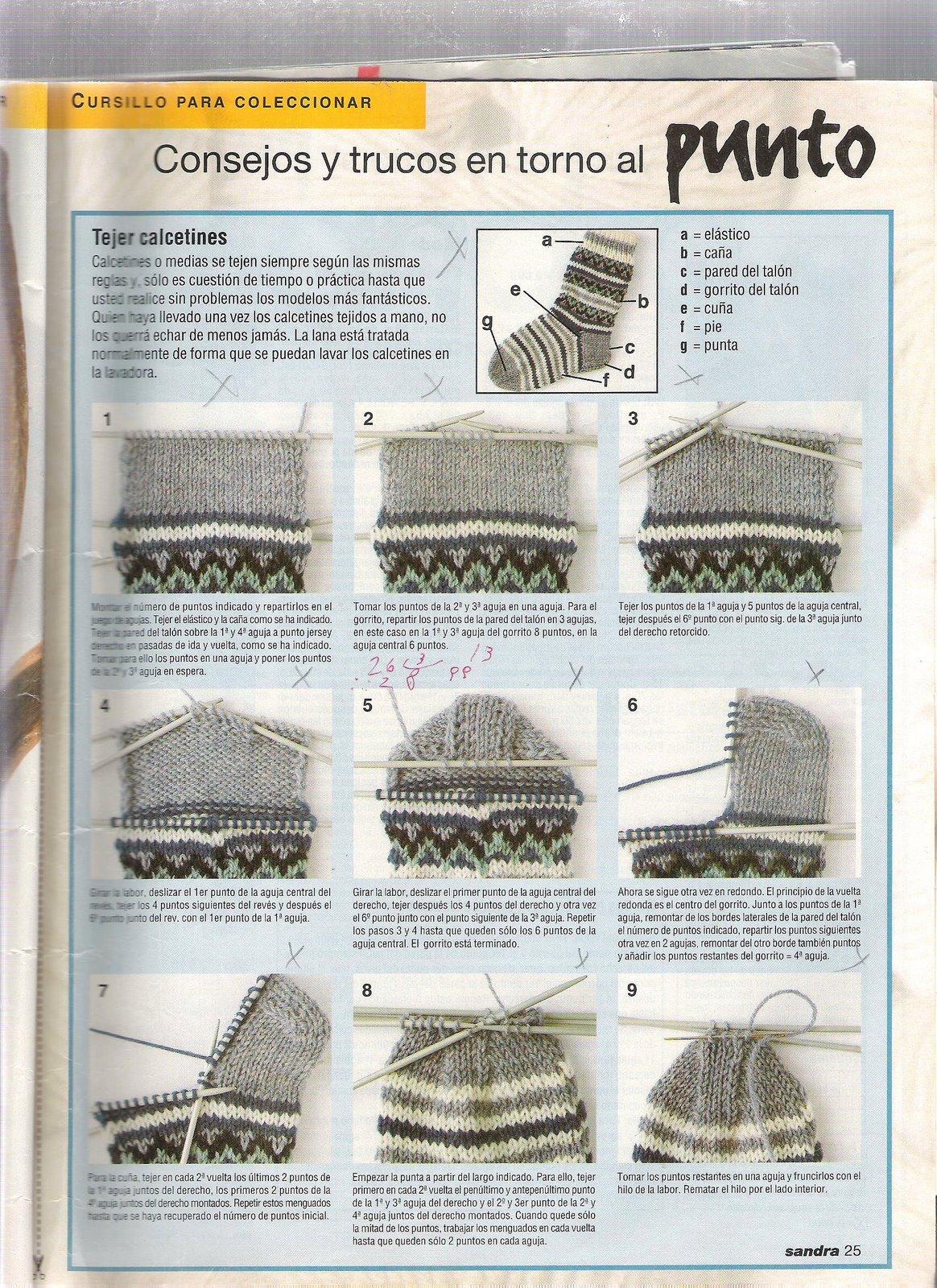 Вязание крючком для начинающих носки спицами