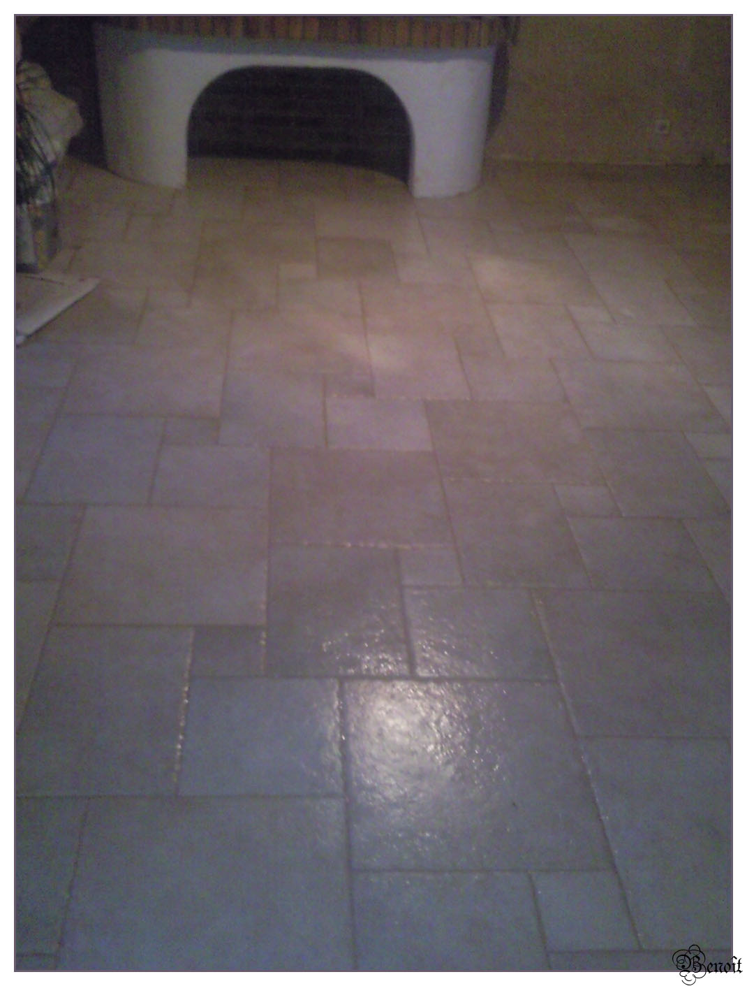 Beno t carrelage opus romain for Carrelage opus romain