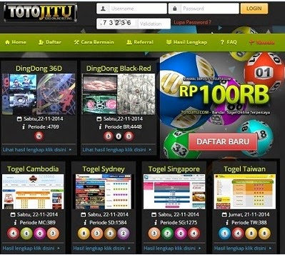 Bandar Togel Online Totojitu