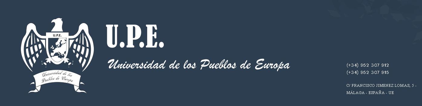 UPE Universidad de los Pueblos de Europa