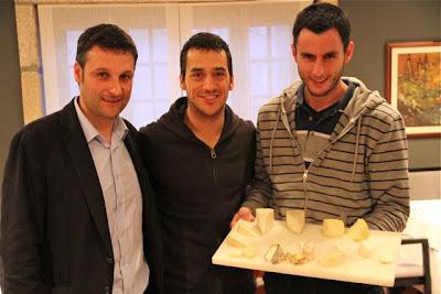 Germán, Yayo Daporta y Rubén Valbuena. Blog Esteban Capdevila