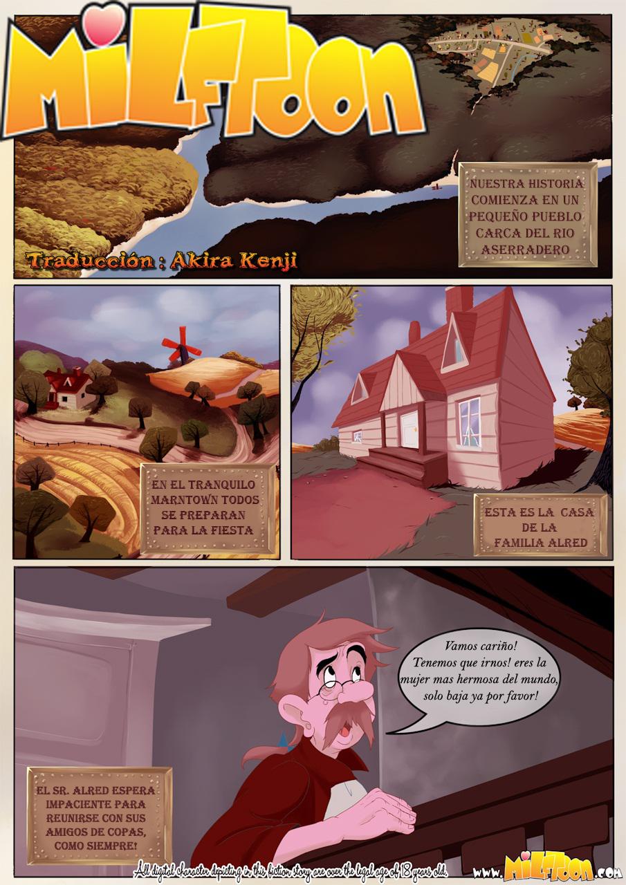 El granero [barn] (comics milftoon) traducción [17 pag]