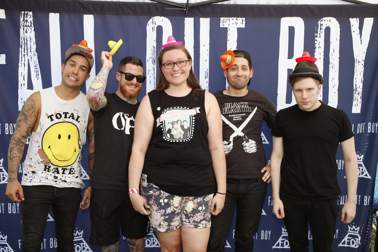 never shout meet and greet 2015