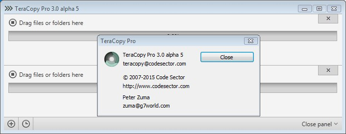 TeraCopy Pro 3.0 Alpha 5 Full Version