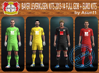 Bayer Leverkusen Kits 2013-14 by Asun11