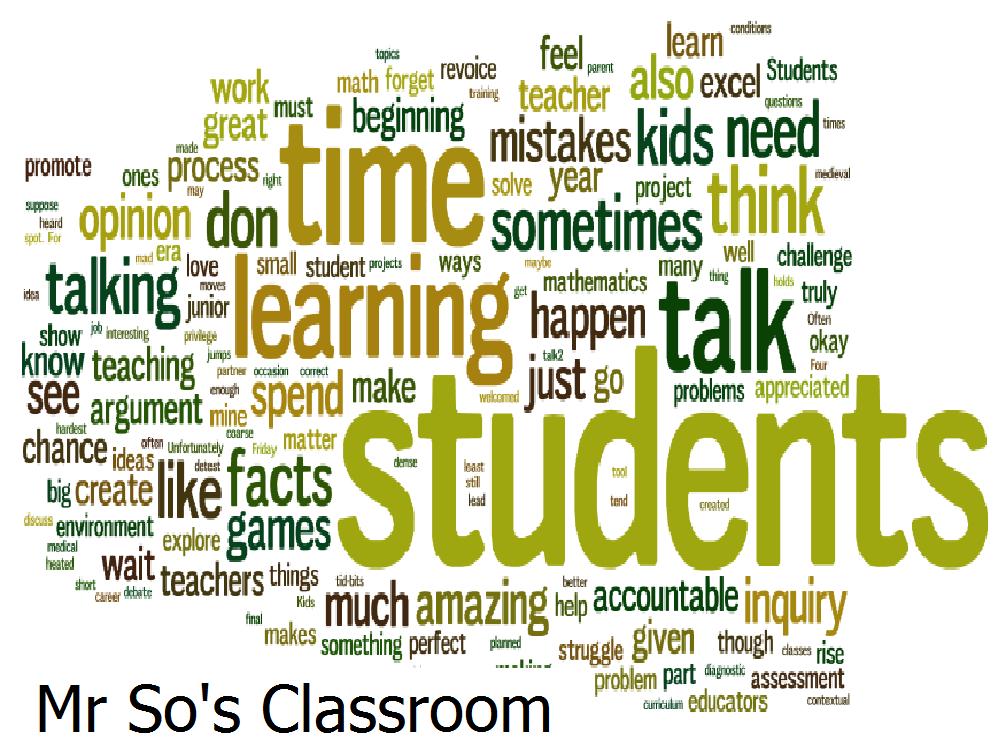 Mr So's Classroom