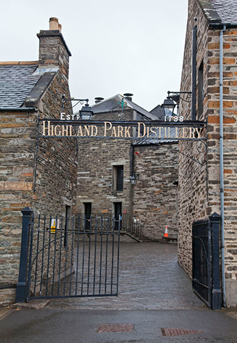 Highland Park Whisky, Orkney, Scotland, UK.