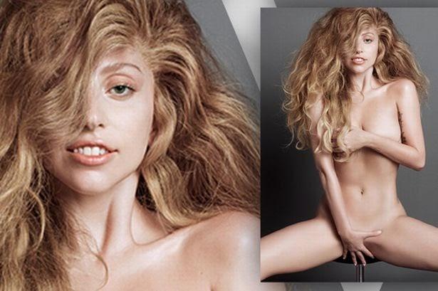 Lady gaga goes naked