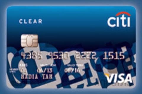 Citibank Clear Card Malaysia