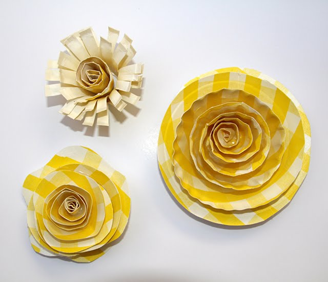 Home confetti diy paper plate flowers you can find bright summery patterned paper plates on clearance now to make these fun wall flowers great for a backdrop garden picnic or even to decorate mightylinksfo