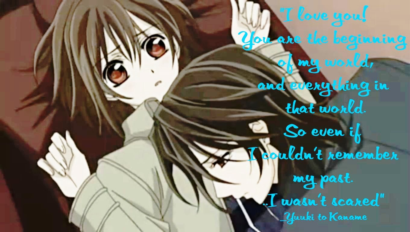 anime vampire love quotes quotesgram