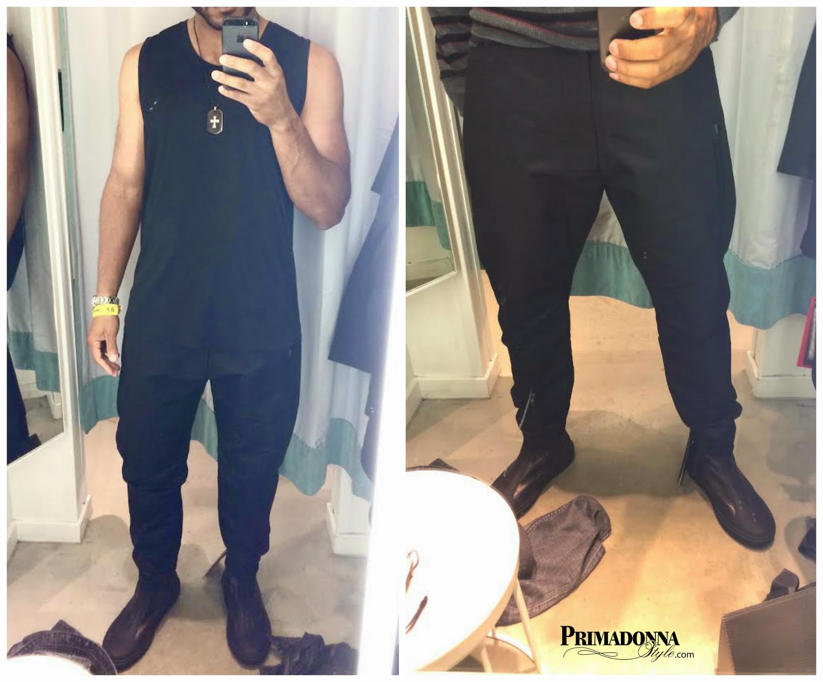Alexander Wang for H&M Tank Top & Tapered Jeans