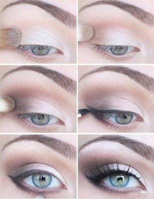 maquillade de ojos encapotados