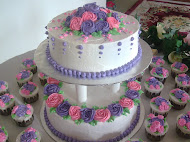 Wedding Cake & Cupcakes