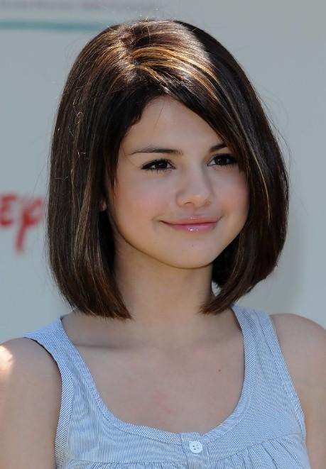 selena gomez hairstyles bob