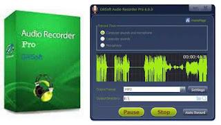 GiliSoft Audio Recorder Pro 6.5.0 Full Version Including Keygen Free Download