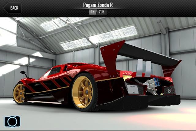 Pagani Zonda R CSR Racing