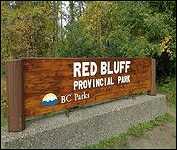 Granisle B.C. Red Bluff Provincial Park