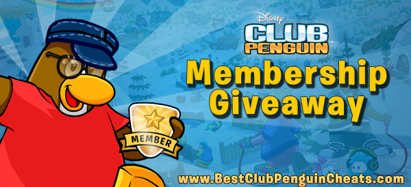 Free Club Penguin Membership Giveaway