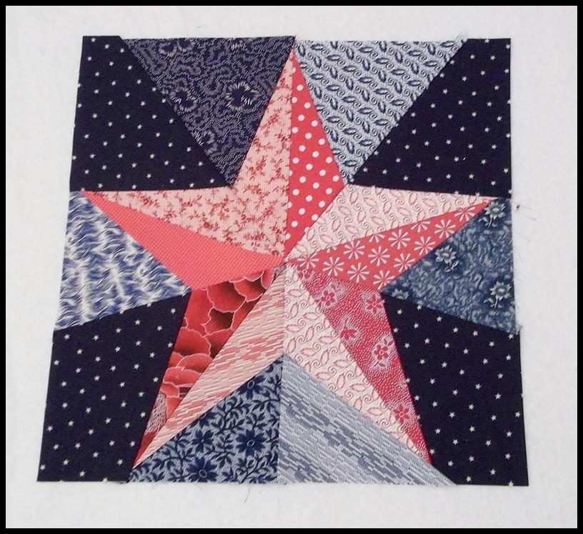Best Quilting 5 Point Star On Pinterest Star Quilt Blocks 640 x 480