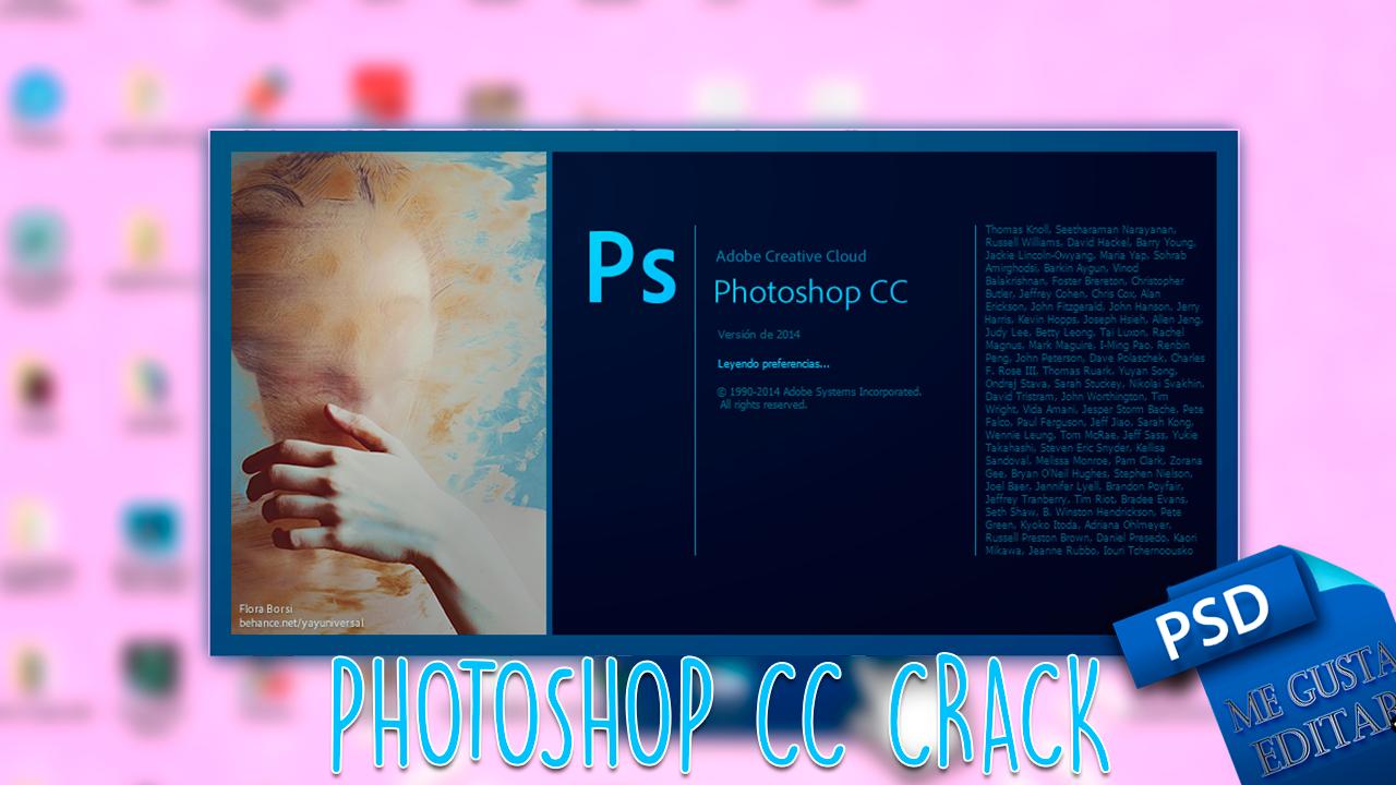 descargar photoshop cc gratis crack