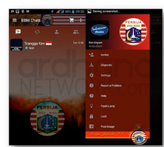 Download Free Themes MOD BBM Persija New version  Download Free Themes MOD BBM Persija New version 2.10.0.35 APK Latest
