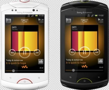 Sony Ericsson Live With Walkman width=