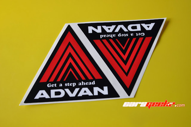Advan - Get a step ahead sticker 1