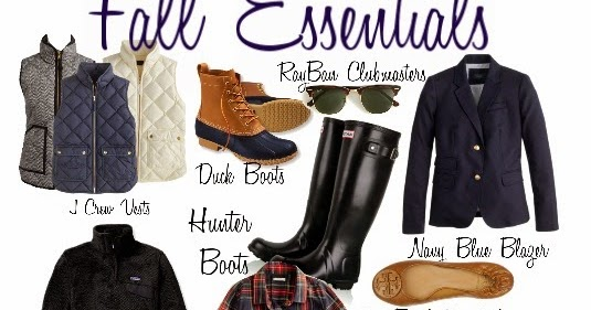 belleoftheball45  fall essentials