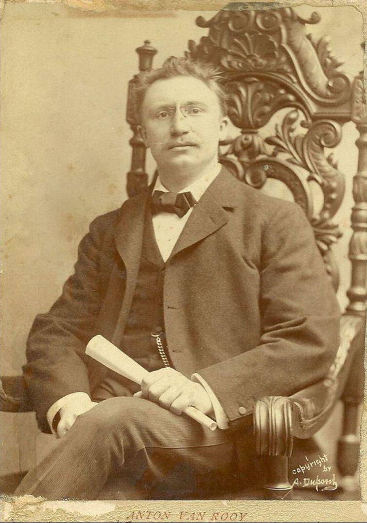BASS-BARITONE ANTON VAN ROOY (1870 - 1932) CD