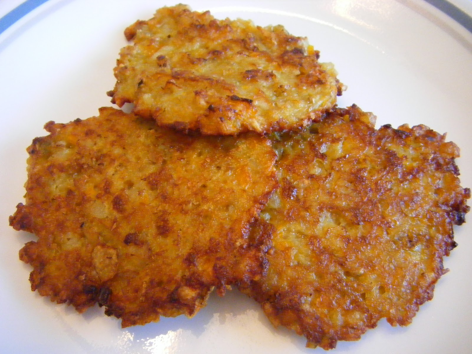 Kapora's Journey: Yellow Bell Pepper and Potato Latkes