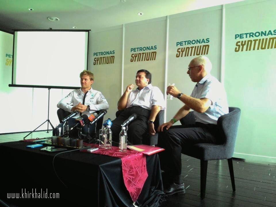 Sesi Media Petronas Syntium dengan CoolTech